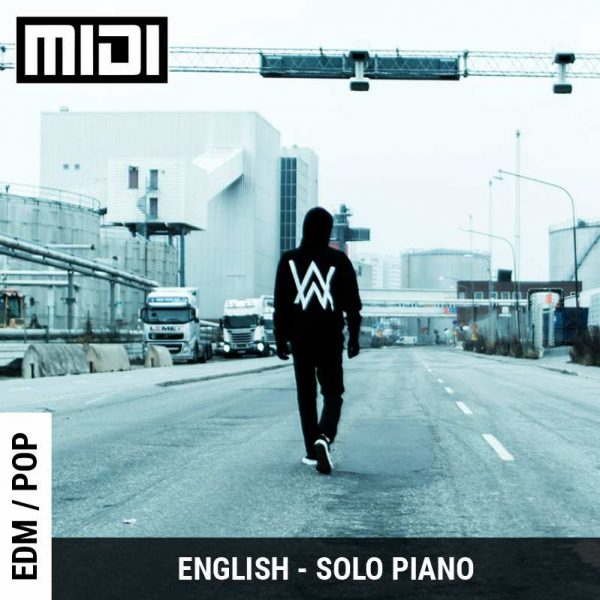 Faded (Alan Walker) Solo Piano | Tabs | Sheet | Midi | Notes | Chords | GSS School of Music