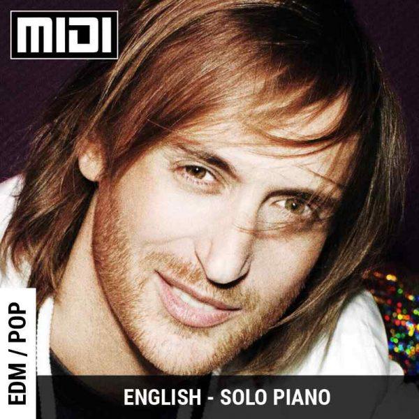 Titanium (David Guetta ft Sia) Solo Piano | Tabs | Sheet | Midi | Notes | Chords | GSS School of Music