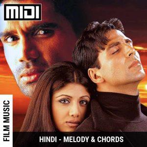 Tum Dil Ki Dhadkan Mein (Dhadkan) | Tabs | Sheet | Midi | Notes | Chords | GSS School of Music